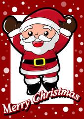 Christmas and Happy Santa Claus