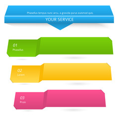 range-of-services-of-horizontal-banners-on-white-background