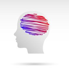 idee, icona, fantasia, colori