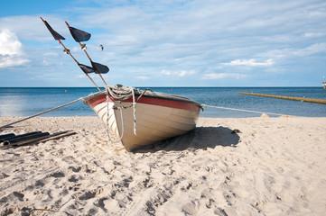Fischerboot Koserow Usedom