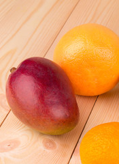 festive assortment of mango