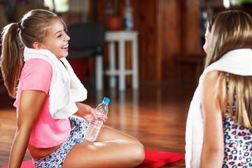Sports teenage girls