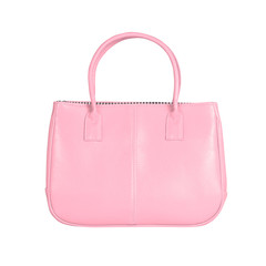Pink female bag