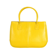 Yellow female bag