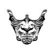 Samurai half mask - 73299482