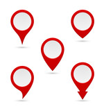 pin map marker pointer icon poster