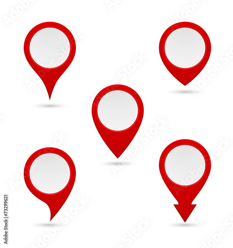 pin map marker pointer icon - 73299621