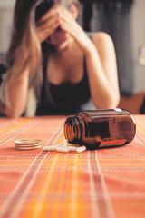 Medicine sul tavolo