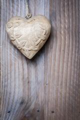Coeur rond en bois