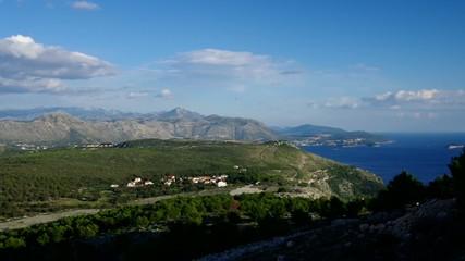 Dubrovnik Berge vid 01
