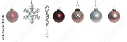canvas print picture christmas ornament