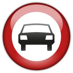 Button Patch mehrspurige Kraftfahrzeuge verboten