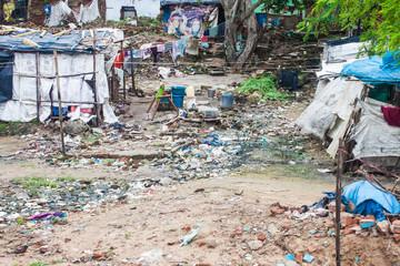 Slum in Ahmedabad
