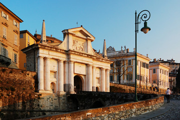 Porta San Giacomo Bergamo, Italia