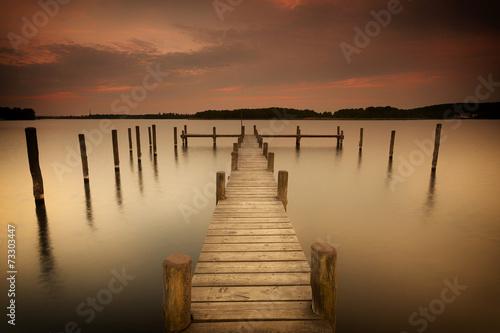 Foto op Plexiglas Meer / Vijver Ruhe für Geist und Seele