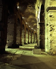 Colosseum arches, Rome © Arenaq Photo UK