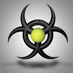 virus danger logo