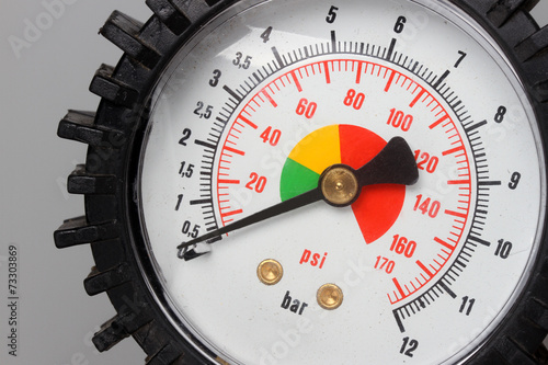 Leinwanddruck Bild Pressure gauge