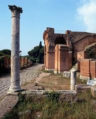 Roman ruins, Ostia, Italy © Arena Photo UK