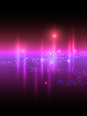 Abstract pink violet equalizer background