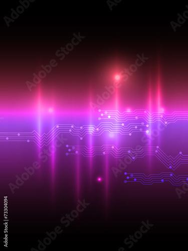 Abstract pink violet equalizer background