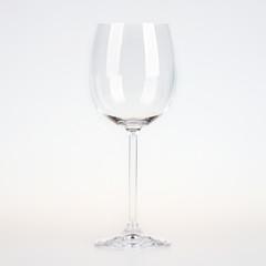 Empty vine glass