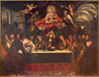 Seville - Last supper in church Hospital de los Venerables