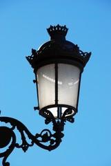 Wrought iron street lantern, Spain © Arena Photo UK