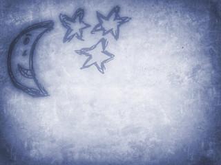 Mond und Sterne...vintage sky