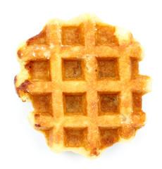 waffle on a white background
