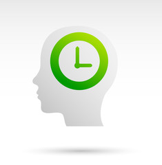 Ritmo circadiano, orologio, testa, memoria