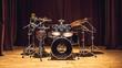 Leinwanddruck Bild - Drums Set