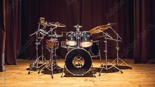 Leinwanddruck Bild Drums Set
