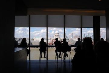 London skyline da Tate Modern