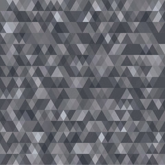 An abstract triangular vector pattern