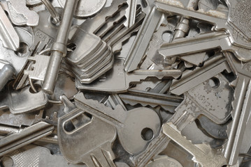 Clutter of keys