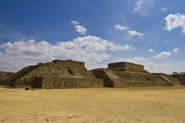 Monte Alban site, Oaxaca, Mexico