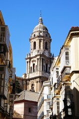 Malaga Cathedral tower © Arena Photo UK