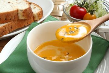 南瓜スープ 朝食