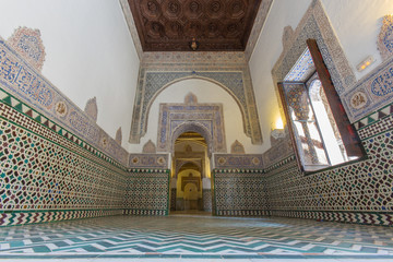 Seville - The one of rooms in Alcazar of Seville.