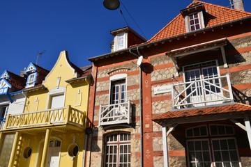 France, the picturesque city of Le Touquet