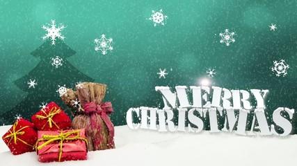 Christmas Gifts Merry Christmas Snow
