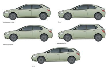 PKW -  Kompaktwagen, markenneutral IV