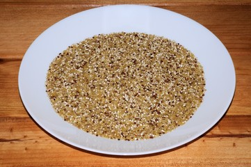 Quinoa and bulgar wheat © Arena Photo UK