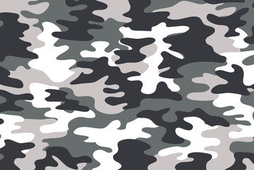 background of soldier grey camo