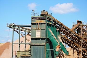 Quarry conveyor belt © Arena Photo UK