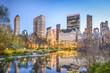 Central Park New York City at Dusk - 73314409