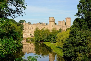 Warwick castle and River Avon © Arena Photo UK