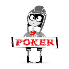 poker smile