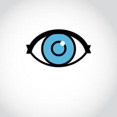 sign eyes